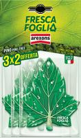 Profumatore Auto Pino Fresca Foglia Arexons Confezione 3 x 2