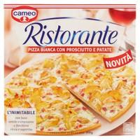 Pizza Ristorante Bianca Prosciutto E Patate Cameo