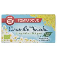Camomilla Finocchio Bio Pompadour 18 Filtri