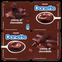 Crema Al Cioccolato Danette 4 Da Gr . 125