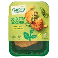 Cotoletta Croccante Spinaci Riso E Formaggio Garden Gourmet