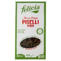 Mezze Penne Piselli Verdi Felicia Bio
