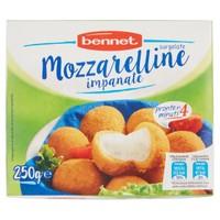 Mozzarelline Impanate Surgelate Bennet
