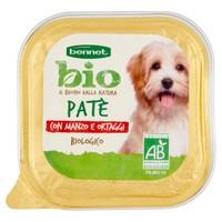 Pate Per Cani Con Manzo E Ortaggi Bennet Bio