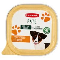 Pate ' Per Cani Vitello E Carote Bennet