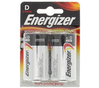2 Pile Torcia Alkaline Energizer Linea Max