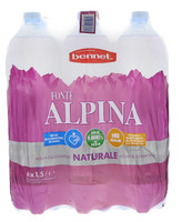 Acqua Naturale Bennet 6 Da L . 1 , 5
