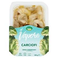 Carciofi Spicchi Al Vapore In Vaschetta