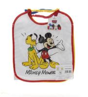 Tris Bavaglie Pappa Bambino Mickey Mouse