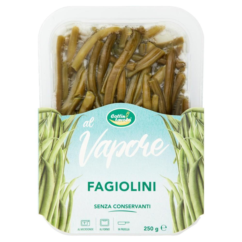 FAGIOLINO AL VAPORE