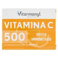 Vitamina C 500 mg Vitarmonyl 24 Compresse Masticabili