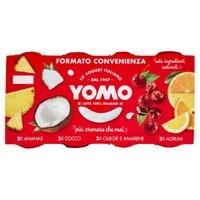 Yogurt Yomo Alla Frutta Ananas , ciliegie , mirtilli E Agrumi Sicilia