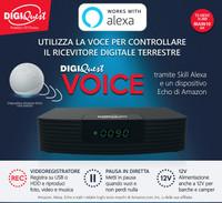 Decoder Digitale Terrestre Smart Voice Digiquest