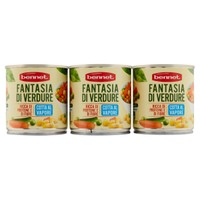 Fantasia Di Verdure Cotte Al Vapore Bennet 3 Da Gr . 200