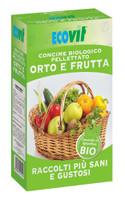 Concime Bio Pellettato Ecovit Kg . 1 Per Orto / Frutta