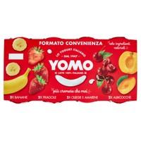 Yogurt Yomo Alla Frutta Banana , fragola , albicocca E Frutti Di Bosco