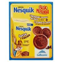 Box Merenda Nesquik ( nesquik Pronto Da Bere + Frollini Cioccolato )