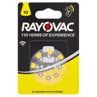 8 Pile Acustiche 10 Rayovac