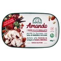 Vaschetta Gelato Vaniglia Cacao Nocciola Amando