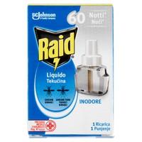 Ricarica Liquida Inodore Per Elettroemanatore 60 Notti Raid Conf . da Pz