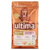 Alimento Secco Per Cani Medium Maxi Monoproteico Salmone Riso Ultima