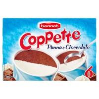 6 Coppe Panna Cioccolato Bennet