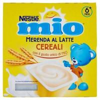 Merenda Al Latte Cereali Da 6 Mesi Nestlé Mio