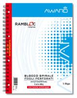 Blocco A 4 Rambloc Spiralato Award
