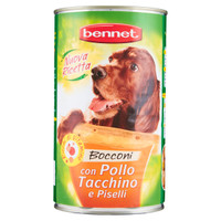 Alimento Umido Per Cani Pate ' Pollo E Tacchino Bennet