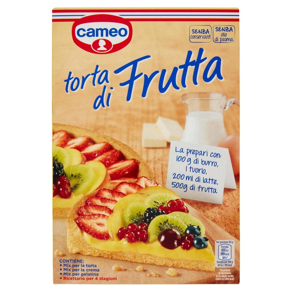 TORTA DI FRUTTA CAMEO