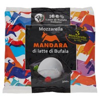 Mozzarella Di Bufala Mandara 3 Da Gr.100