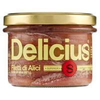 Filetti Alici Tese In Olio Di Oliva Delicius