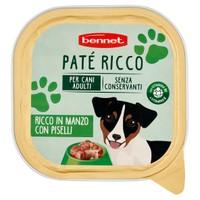 Pate ' per Cani Ricco Manzo E Piselli Bennet