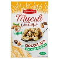 Muesli Croccante Con Cioccolato Nocciole E Mandorle Bennet