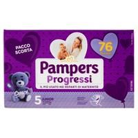 Pannolini Progressi Junior Pampers Quadripack