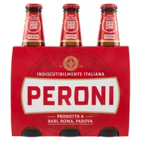 Birra Peroni 3 Bottilgie Da Cl . 33