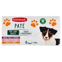 Pate ' Per Cane Bennet 6 Da Gr . 150