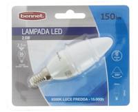 Lampadina A Candela A Led 3 , 5 w E 14 Luce Fredda