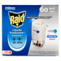 Raid Elettroemanatore Liquido Protezione Piu ' Base + Ricarica 60 Notti