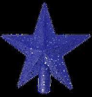 Puntale Stella Cm 20 Blu