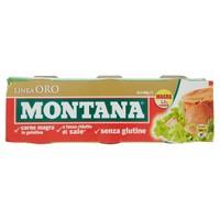 Carne In Scatola Montana Oro 3 Da Gr . 140