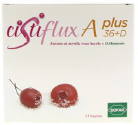 Cistiflux A - plus 36 + d Bustine