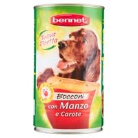 Alimento Umido Per Cani Manzo E Verdure Bennet