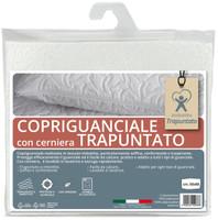 Copriguanciale Ventotene Cm 50 x 80 Imbottito E Trapuntato Con Zip