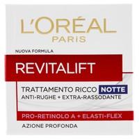 Revitalift Trattamento Ricco Notte Anti-Rughe + Extra-Rassodante L'or A