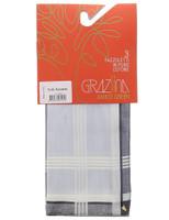Gruppo 3 Fazzoletti Orlo Roule ' Colori Pastello
