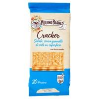 Crackers Senza Granelli Di Sale In Super . sfoglia Di Grano Mulino B . co
