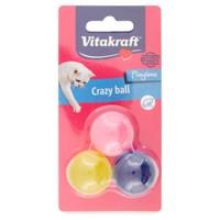 Crazy Ball Per Gatti Vitakraft Mis . S Conf . Da 3