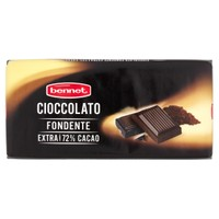 Tavoletta Cioccolato Fondente 72 % Bennet