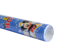 Rotolo Carta Patinata 60 Gr , Cm 70 x 200 , Assortito Walt Disney .